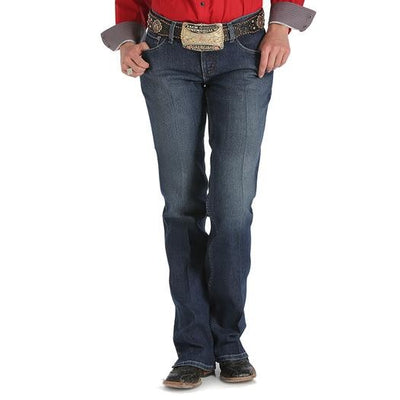 Cinch - Kylie Womens Mid Rise Boot Cut - Dark Stonewash at Buffalo Bills Western