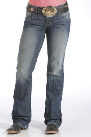 Cinch - Ada Womens Boot Cut - Dark Stonewash at Buffalo Bills Western