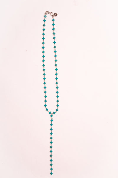 Western Jewellery - Turquoise Y Necklace at Buffalo Bills Western