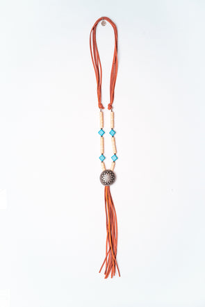 Western Jewellery - Turquoise Beaded Necklace at Buffalo Bills Western