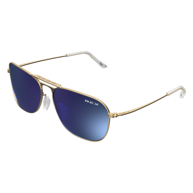 Bex Sunglasses - Ranger Gold / Sky at Buffalo Bills Western