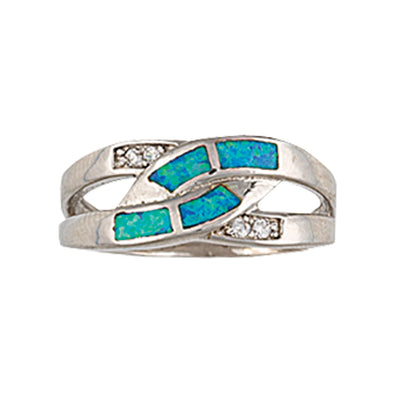 Montana Silversmith - River Lights Turning Stream Ring at Buffalo Bills Western