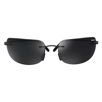 Bex Sunglasses - Salerio X Black / Grey at Buffalo Bills Western