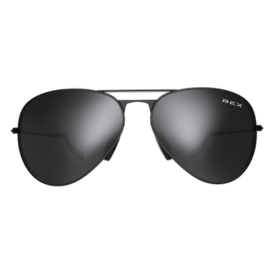Bex Sunglasses - Wesley Black / Grey at Buffalo Bills Western