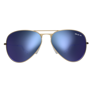 Bex Sunglasses - Wesley Gold / Sky at Buffalo Bills Western