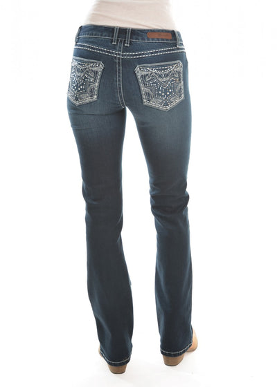 Wrangler - Rock 47 Midnight Relaxed Bootcut - X0W2247491 at Buffalo Bills Western