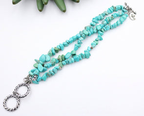 Western Jewellery - Turquoise Stone Bracelet at Buffalo Bills Western