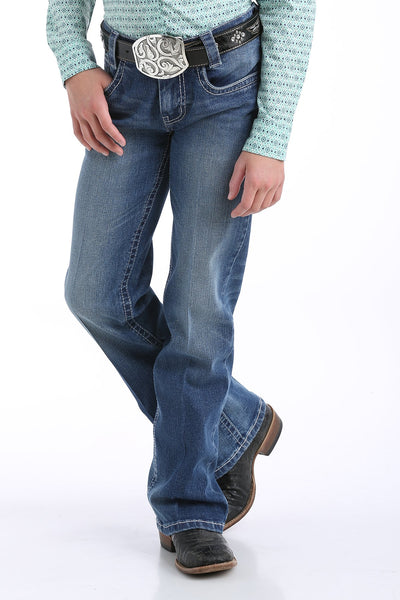 Cruel Girl - Girls Lucy Boot Cut Medium Stonewash Jeans at Buffalo Bills Western