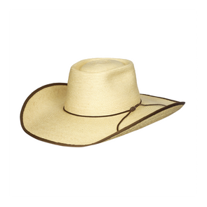 SunBody Hats - Alex Chocolate Bonded Edge