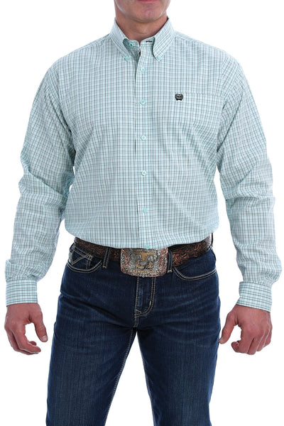 Cinch - Mens Stretch Light Blue Arena Shirt at Buffalo Bills Western