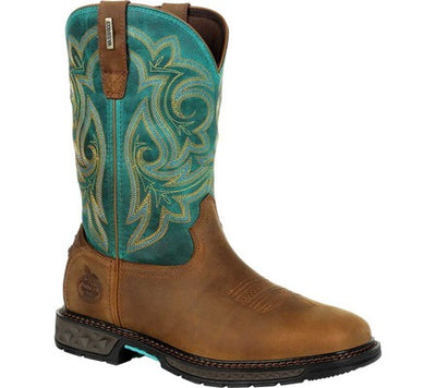 Georgia Boot - Womens Carbo Tech LT Waterproof Boot at Buffalo Bills Western