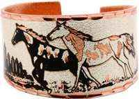 Copper Ring - Wild Horses Ring