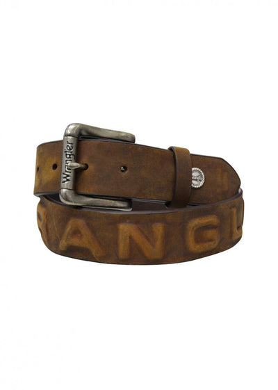 Wrangler - Mana Leather Belt - XCP1931BLT at Buffalo Bills Western