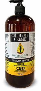 32oz Chi Organic Hemp Creme 7800mg (Full Spectrum)