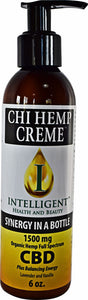 6oz Chi Organic Hemp Creme 1500mg (Full Spectrum)