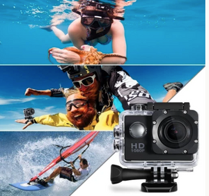 Waterproof Sports Action Camera 1080P HD