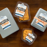 heath's cheddar straws in multiple sizes from ritchie hill bakery