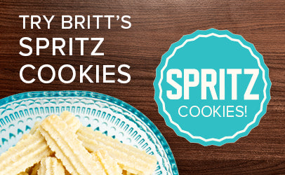 britts spritz cookies ritchie hill bakery