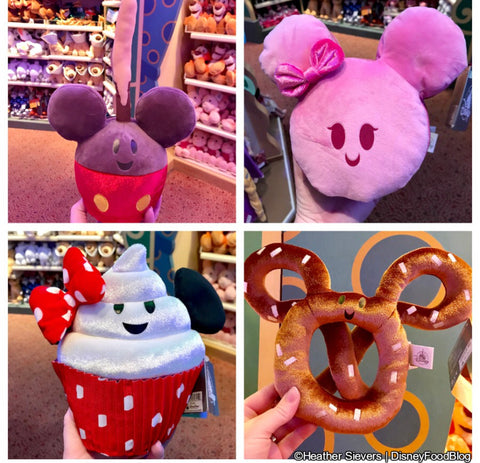 Mickey Snack Stuffies
