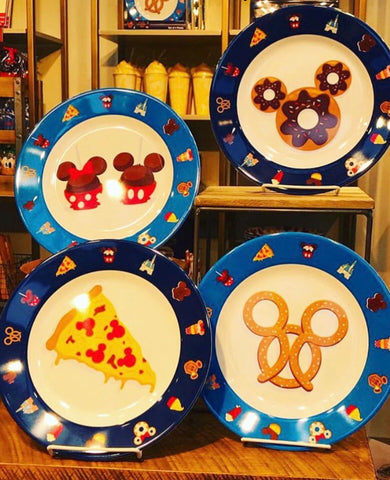 Mickey Snack plates