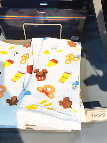 Disney Snack towels