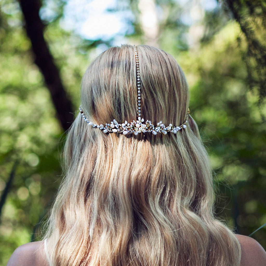 WYN HEADPIECE - OLIVIA HEADPIECES  - 3