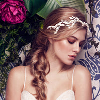 Josephine Headpiece - wax hair accessory
