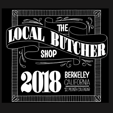2018 Butcher Shop Calendar