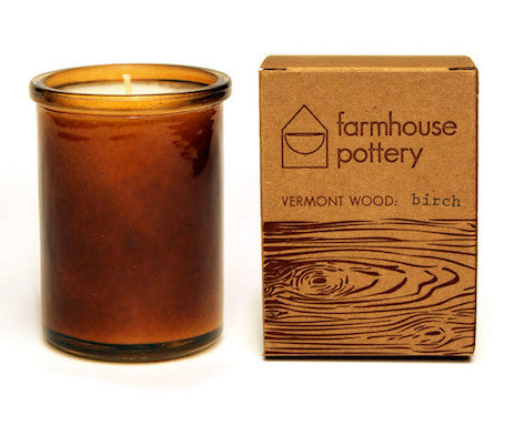 Vermont Wood Scented Candles