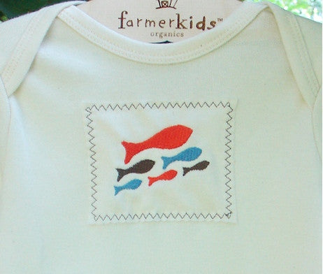 Whimsical Designs for Kids and Babies on Organic Cotton