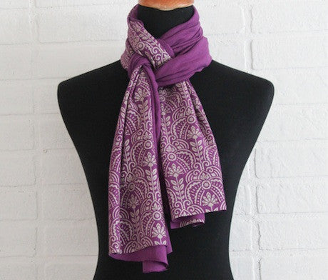 Original Designs on Beautiful Scarves