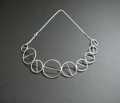Annular Brooch Necklace