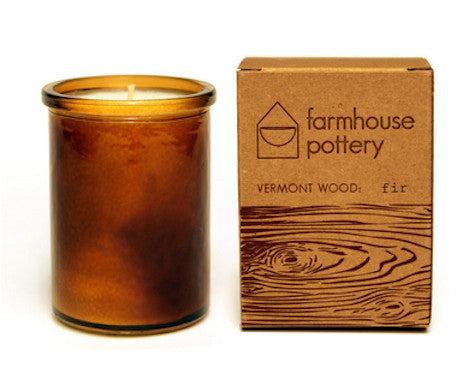 Vermont Wood Fir Scented Candle