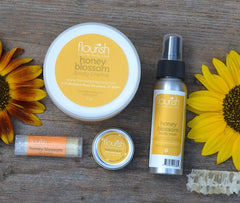 Honey Blossom Moisturizing Set
