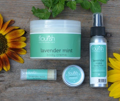 Lavender Mint Moisturizing Set