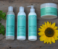 Lavender Mint Cleansing Set