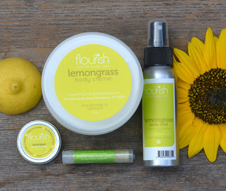 Lemongrass Moisturizing Set
