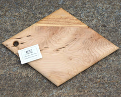 Maple Serving Board with Ironwood Stripe