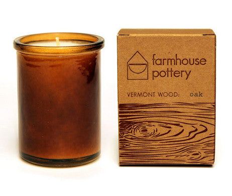 Vermont Wood Oak Scented Candle