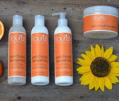 Patchouli Tangerine Cleansing Set