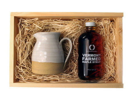 Maple Syrup Pitcher Gift Set