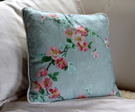 Wild Pippin Blossom Throw Pillow Cover