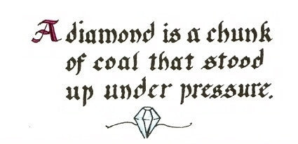 HC-01 A diamond is
