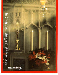 CPC-02  The High Altar at Christmas