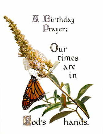 BD-255 A Birthday Prayer