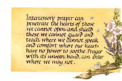 BN-257 Intercessory prayer can