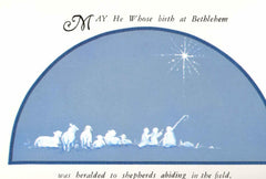 CPC-495 Nativity on blue