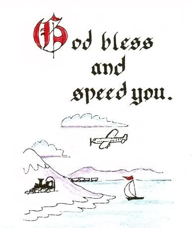 THC-559 God bless and speed you