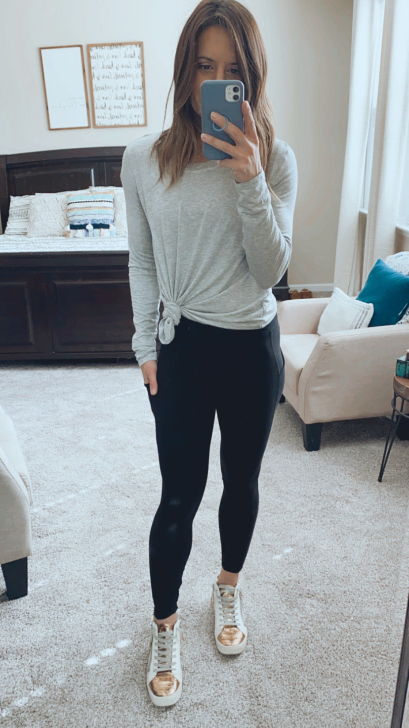 All about that base Legging - Black