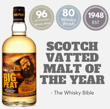 Big Peat Small Batch Blended Malt Whisky ~ Islay, Scotland